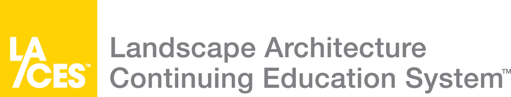 Logo - Landscape Architecture Continuing Education System
